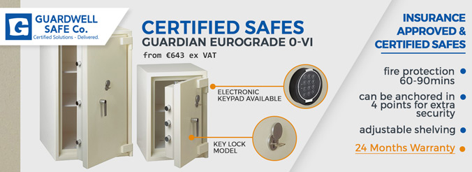 Certified Safes from Guardwell