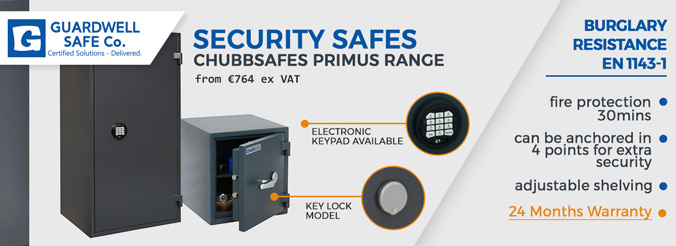 Guardwell Security Safes Range